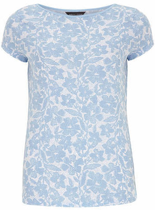 Dorothy Perkins Blue floral print tee