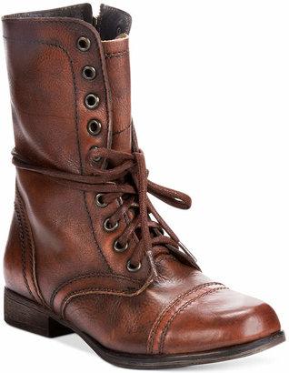 Steve Madden Women Troopa Combat Boots
