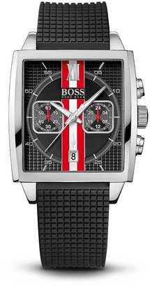 HUGO BOSS '1512731' | Black Silicon Strap Chronograph Watch by BOSS