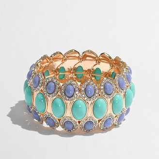 J.Crew Factory Factory pastel oval cuff