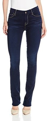 7 For All Mankind Women's Skinny Bootcut Jean In Slim Illusion Luxe Rich Blue