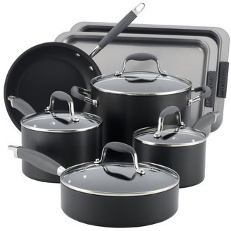 Anolon Advanced Hard Anodized Nonstick 11 Piece Cookware & Bakeware Set