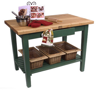 John Boos American Heritage Classic Country Prep Table