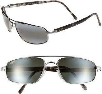 Maui Jim Kahuna PolarizedPlus(R)2 59mm Aviator Sunglasses