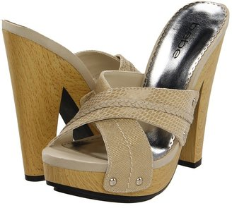 Bebe Charity (Cream) - Footwear