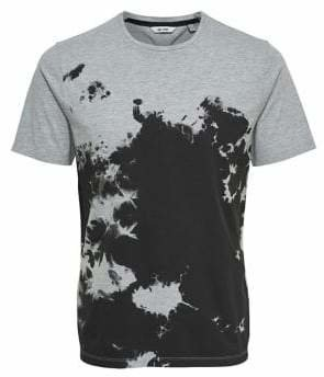 ONLY & SONS Bleach Effect Cotton Tee