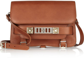 Proenza Schouler The PS11 Classic textured-leather shoulder bag
