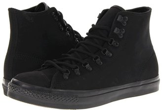 Converse Chuck Taylor All Star Hiker Leather (Black) - Footwear