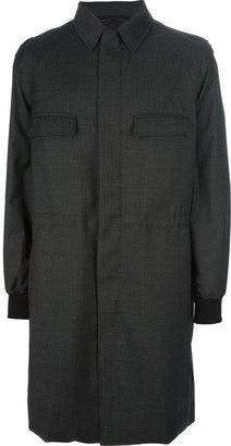 Kris Van Assche checked coat