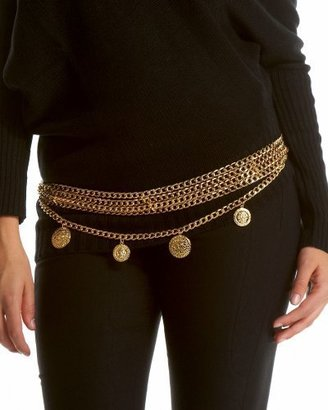 Bebe Charming Chain Belt