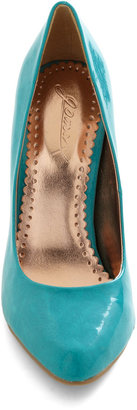 Updating a Classic Heel in Turquoise