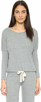 Eberjey Heather Slouchy Pajama Top $69 thestylecure.com