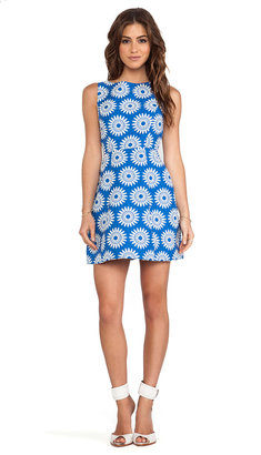 Alice + Olivia Epstein Structured Pouf Dress