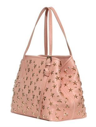 Jimmy Choo Small Sasha Leather Shoulder Bag