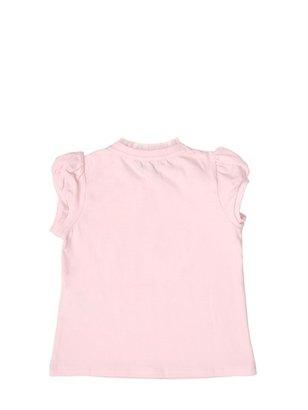 Armani Junior Stretch Jersey T-Shirt