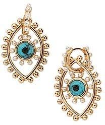 BaubleBar Panon Evil Eye Drop Earrings
