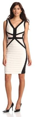 Jax Women's Banded and Inset Waist Dress