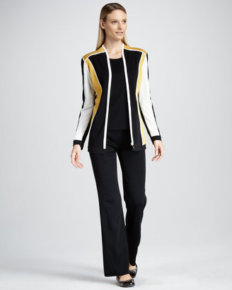 Misook Collection Colorblocked Jacket, Women's