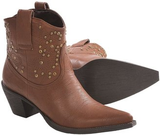 Roper Rock Star Studs and Stones Ankle Boots (For Women)