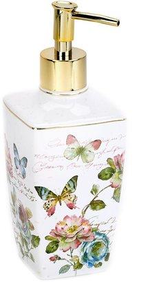 Avanti Butterfly Garden Lotion Pump in White