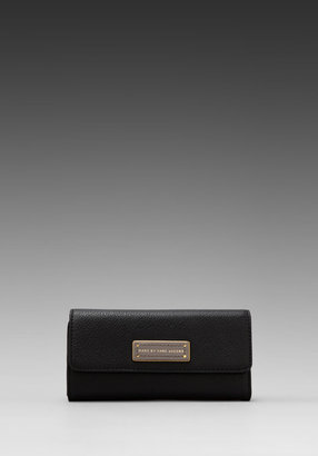 Marc by Marc Jacobs Too Hot to Handle Colorblocked Original Long Trifold Wallet