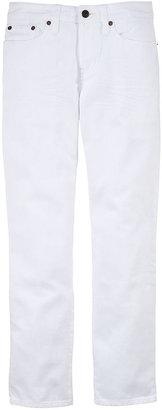 Ralph Lauren Boys 8-20 Slim-Fit White Jeans