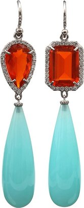 Irene Neuwirth JEWELRY Peruvian Opal Drop Earrings