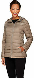 Liz Claiborne New York Zip Front Packable Puffer Coat $38.50 thestylecure.com