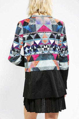 Urban Outfitters Premonition Crusades Split-Front Blazer