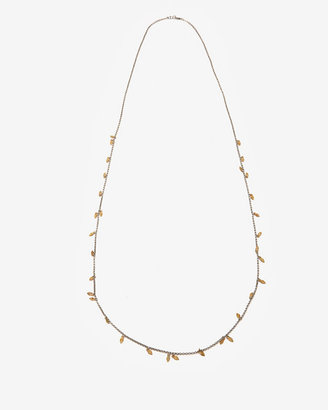 Chan Luu Leaf Charm Long Necklace