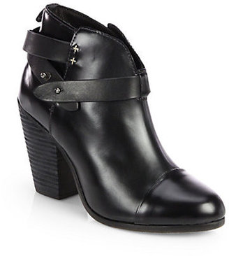 Rag and Bone Rag & Bone Harrow Leather Ankle Boots