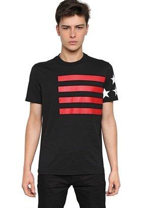Givenchy Cuban Fit Cotton Jersey T-Shirt