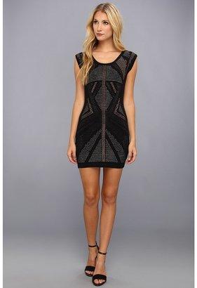 Gabriella Rocha Studded Sleeveless Dress (Black) - Apparel