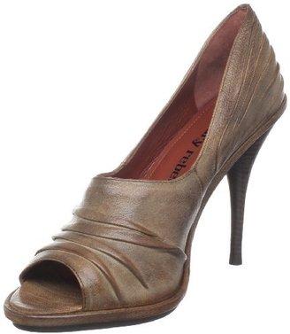 Luxury Rebel Women's Sally Open-Toe Pump