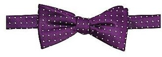 JCPenney Stafford® Pre-Tied Dotted Silk Bow Tie