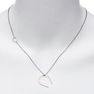 Melissa Joy Manning Horseshoe Pendant Necklace 1 ea