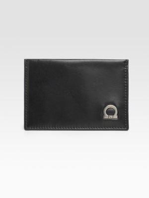 Salvatore Ferragamo Gancio Credit Card Case