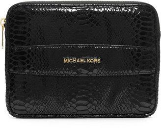 MICHAEL Michael Kors Mini Tablet Clutch Bag, Black