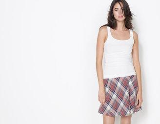 James Perse Shoreditch Plaid Skirt