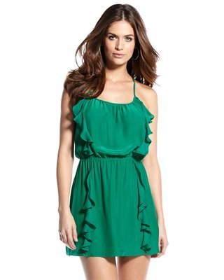 Parker Ruffle-Front Dress (CUSP Most Loved!)
