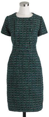 J.Crew Collection emerald tweed dress