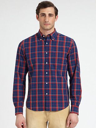 Gant Madras Plaid Sportshirt