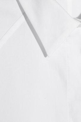 Giambattista Valli Oversized cotton-poplin shirt