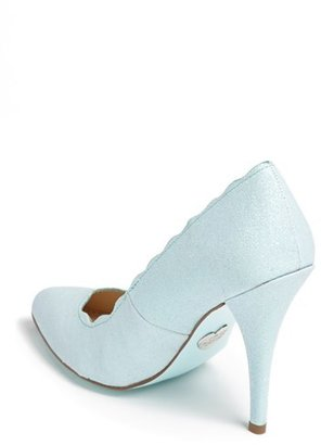 Betsey Johnson Blue by 'Altar' Pump