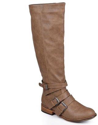 Journee Collection vienna tall wide calf boots - women
