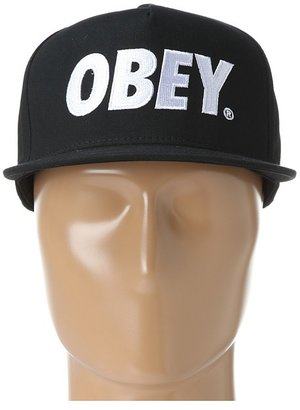 Obey The City Snapback Hat