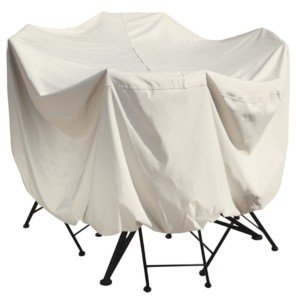 """Treasure Garden Outdoor Patio Furniture Cover, 36"""" Bistro/Cafe Table & Chairs"""