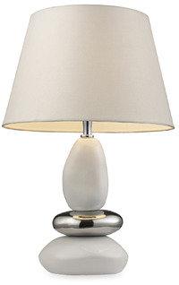 "Elemis 19"" Pure White Table Lamp"