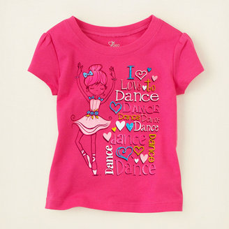 Children's Place Dance girl graphic tee