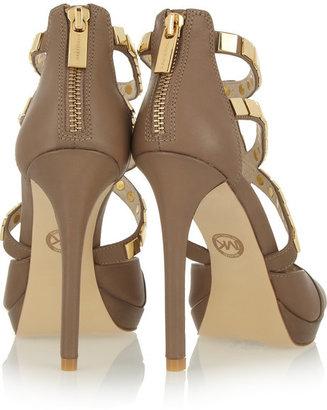 MICHAEL Michael Kors Studded leather sandals